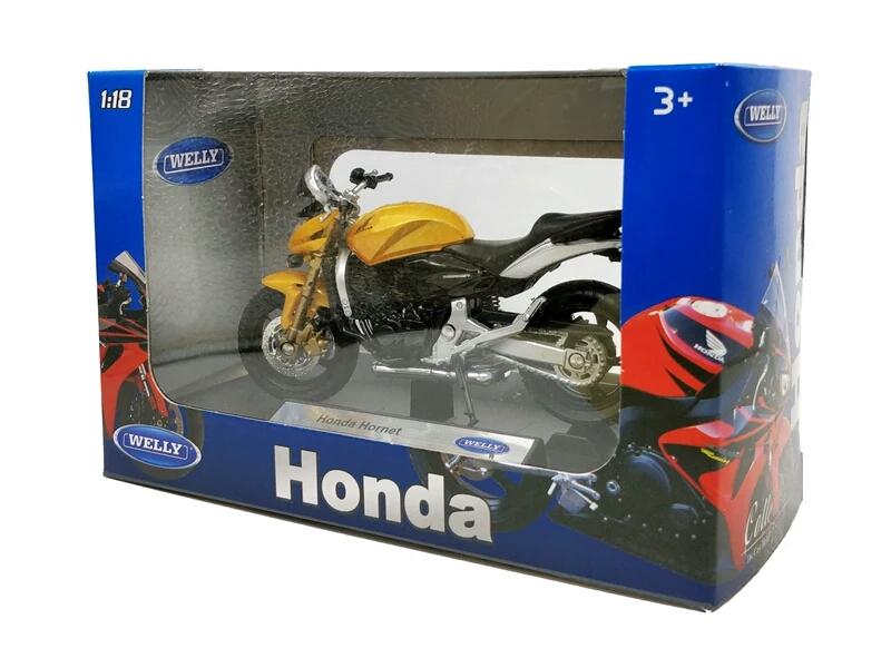 Miniatura Honda Hornet 2008 Welly 1:18
