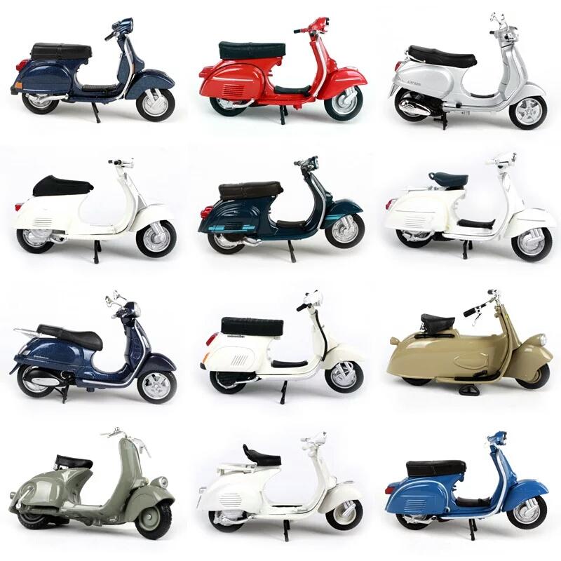 miniaturas de motos vespas