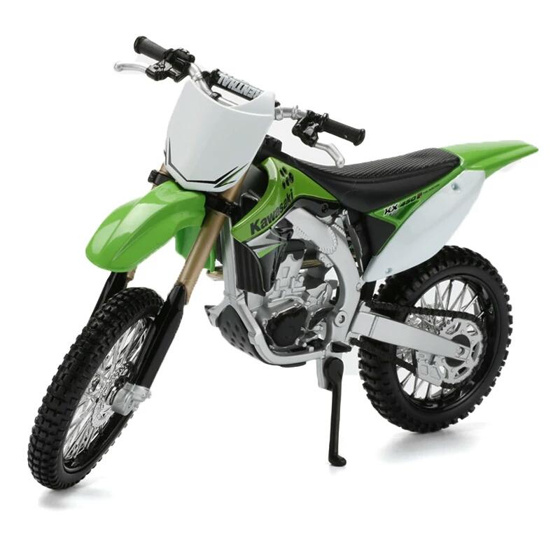 Miniatura Kawasaki KX 450F Maisto 1:12