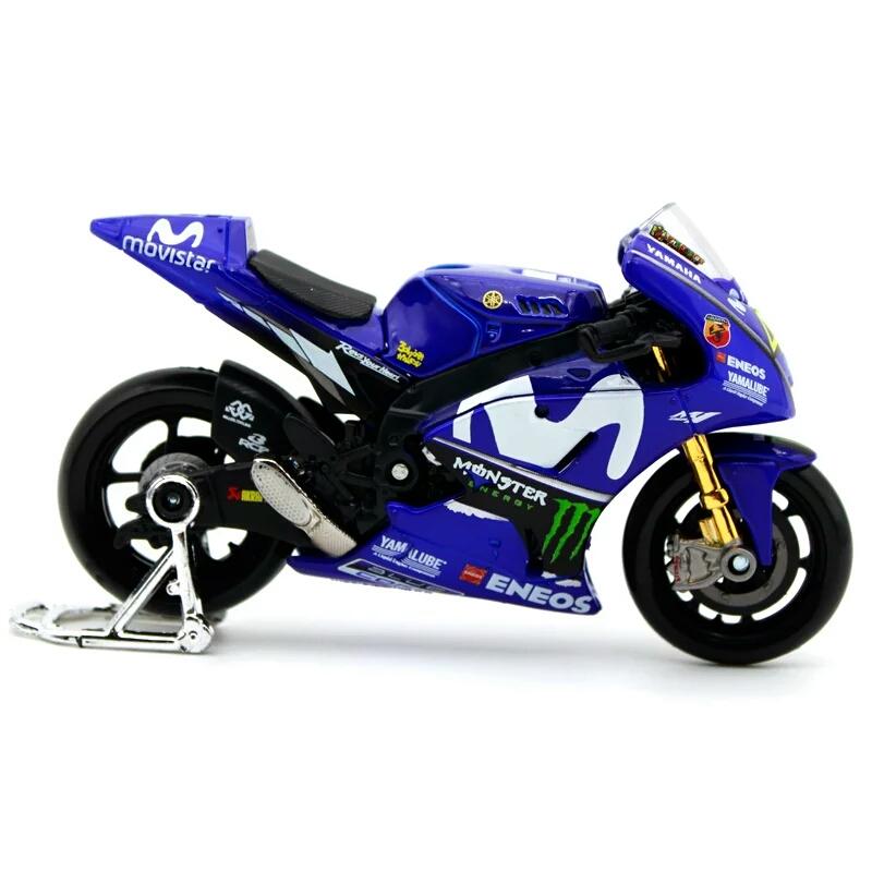 Miniatura Yamaha Valentino Rossi 46 2018 Maisto 1:18