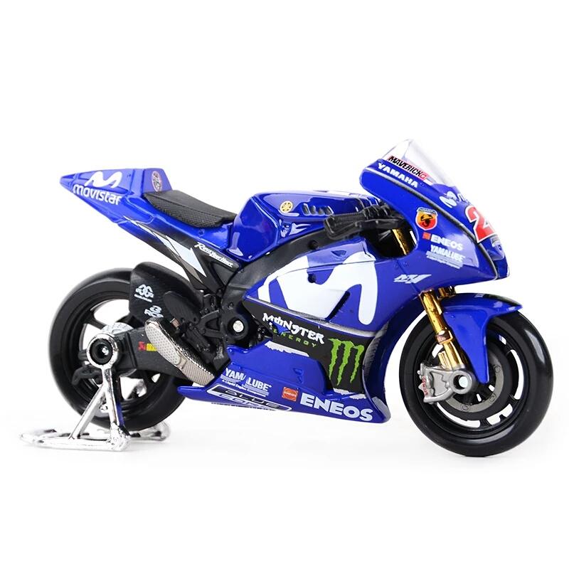 Miniatura Yamaha MotoGP 2018 Maverick Vinales 25 Maisto 1:18