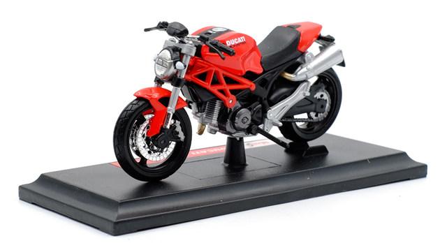 Miniatura Ducati Monster 696 2009 Maisto 1:18