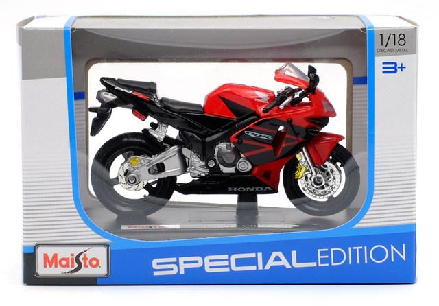 Miniatura da Honda CBR 600RR 2004 Maisto 1:18
