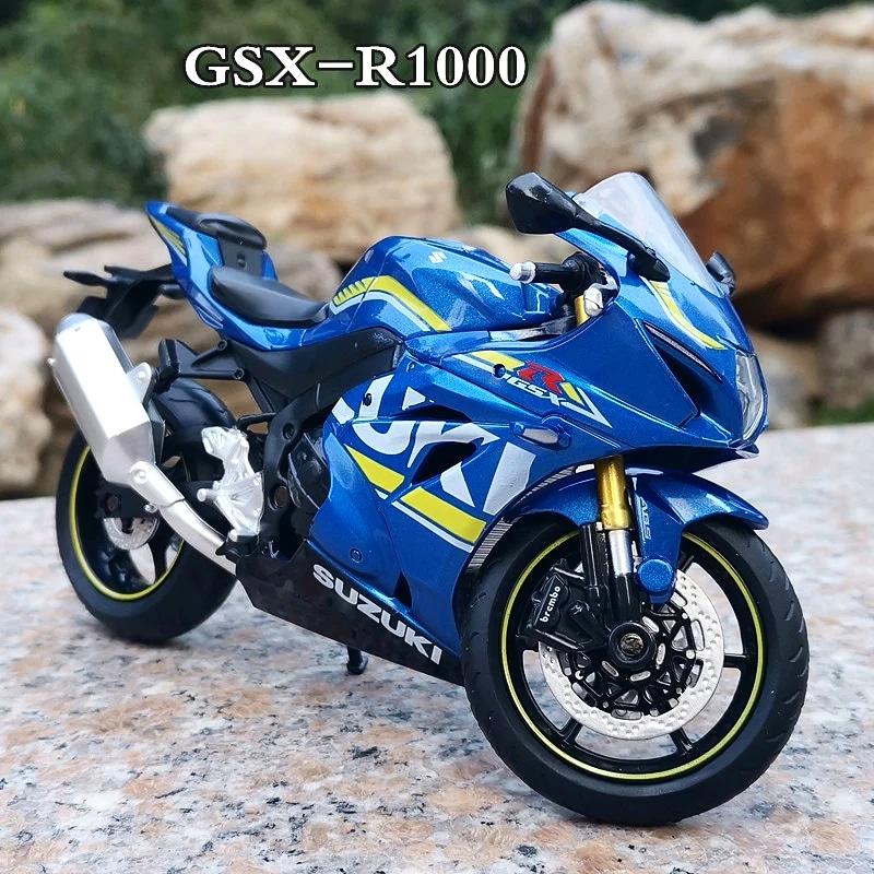 Miniatura Suzuki GSX-R 1000 2017 GP Azul Caipo 1:12