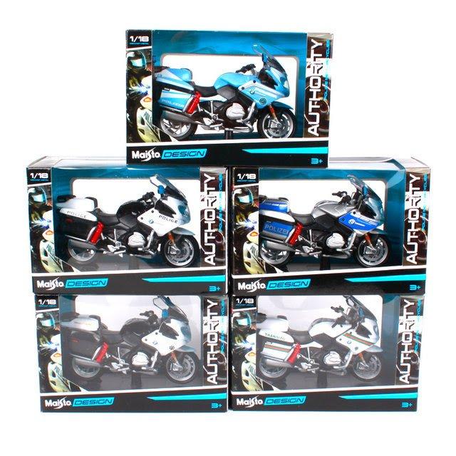 Miniaturas de motos bmw r 1200 rt maisto desing