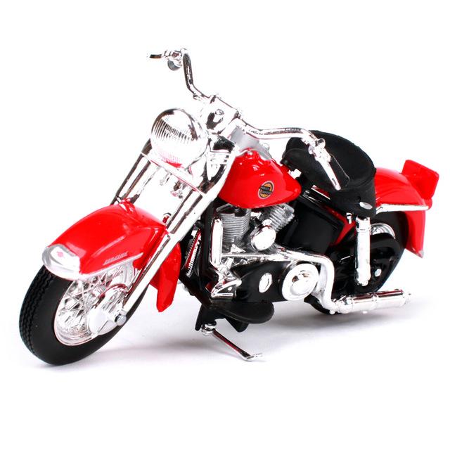 Miniatura Harley Davidson FLH Duo Glide 1958 Maisto 1:18