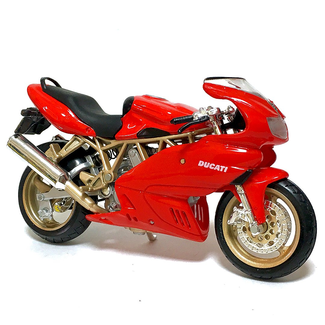 Miniatura Ducati Supersport 900 1999 Bburago 1:18
