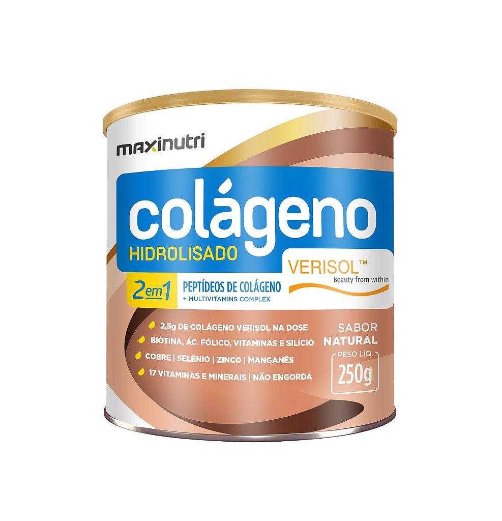 38a41e944 Colágeno Hidrolisado 2 em 1 Verisol - 250 gramas - Maxinutri