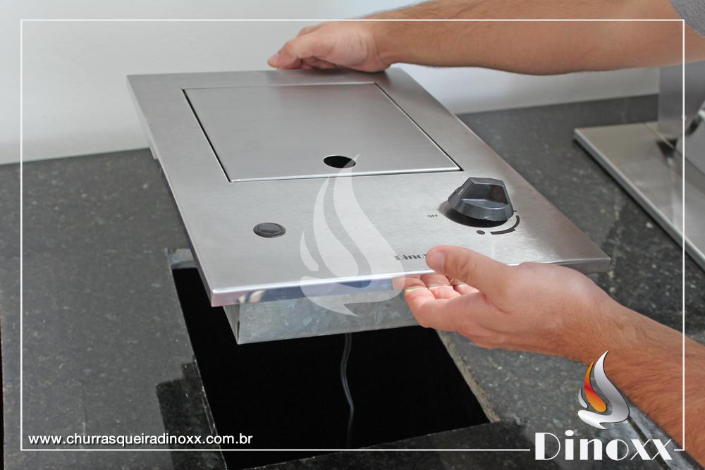 Intalação do Cooktop One da Dinoxx