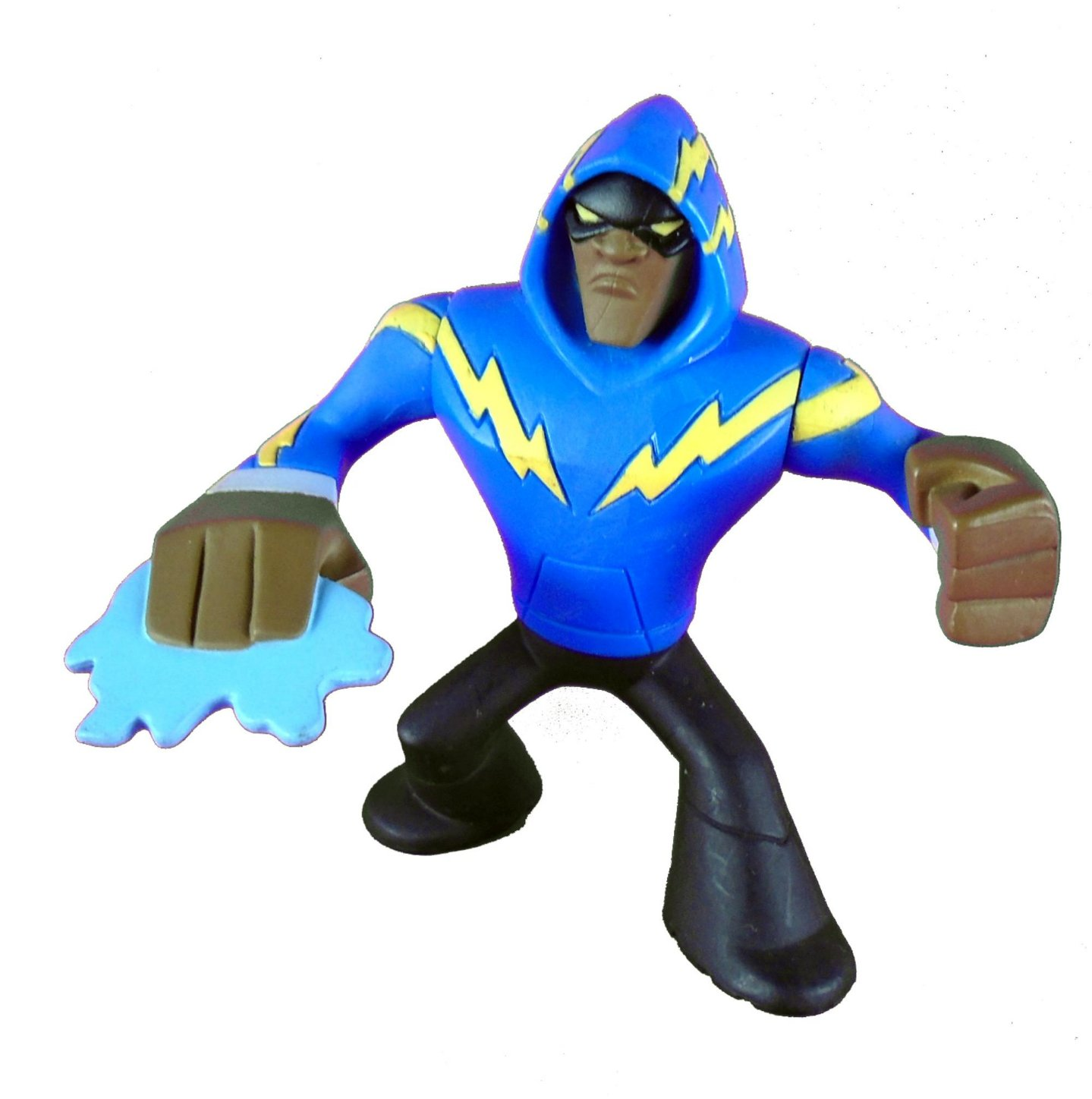 DC Universe Action League Black Lightning (Raio Negro) Loose