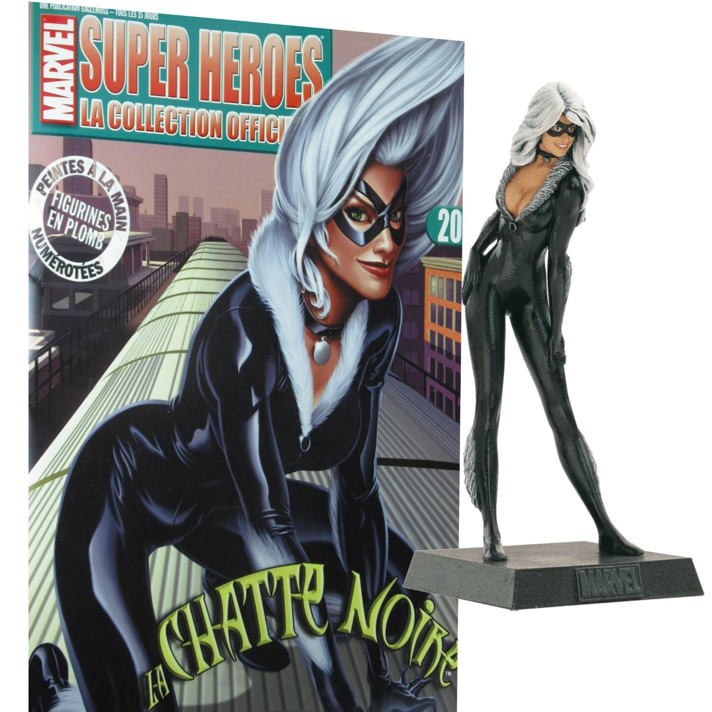 Eaglemoss Marvel Super Heroes  Collection Black Cat (Gata Negra)