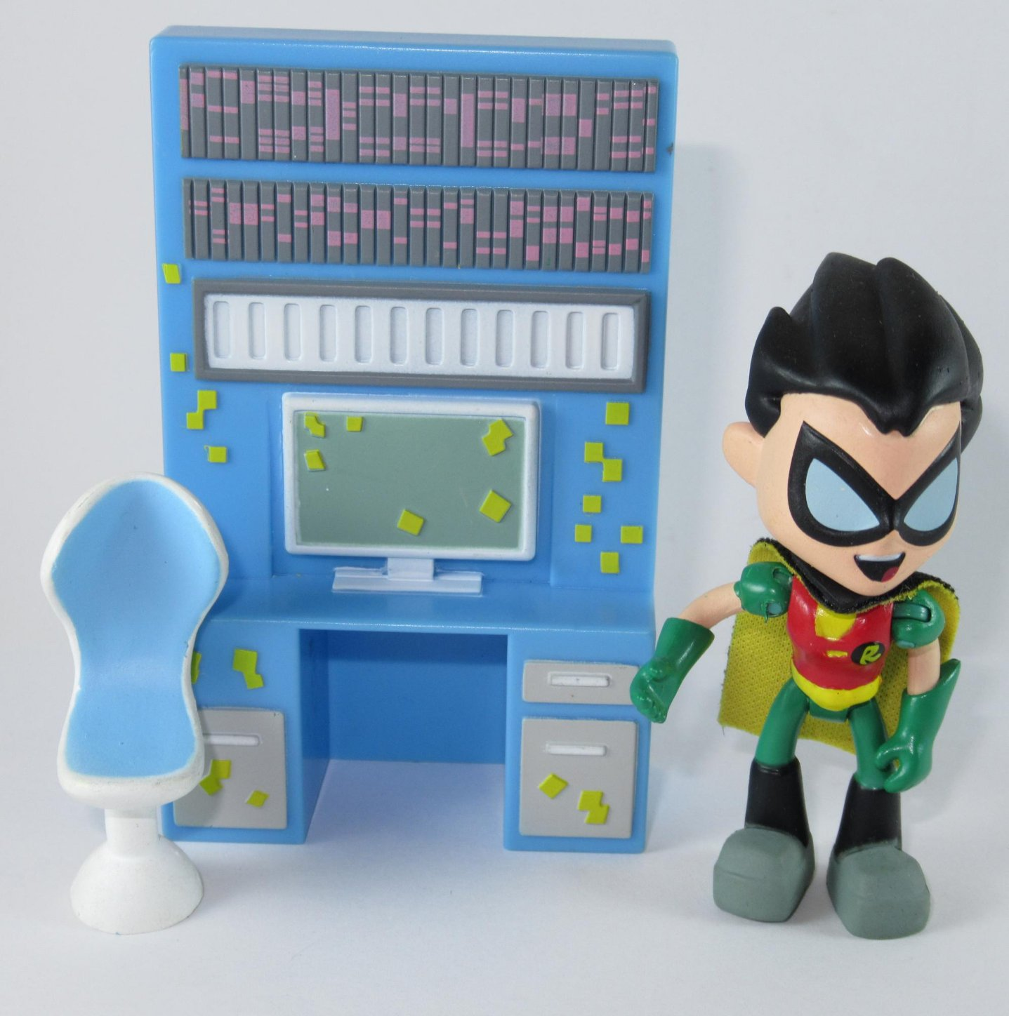 Jazzwares DC Teen Titans GO! Robin with Desk Loose