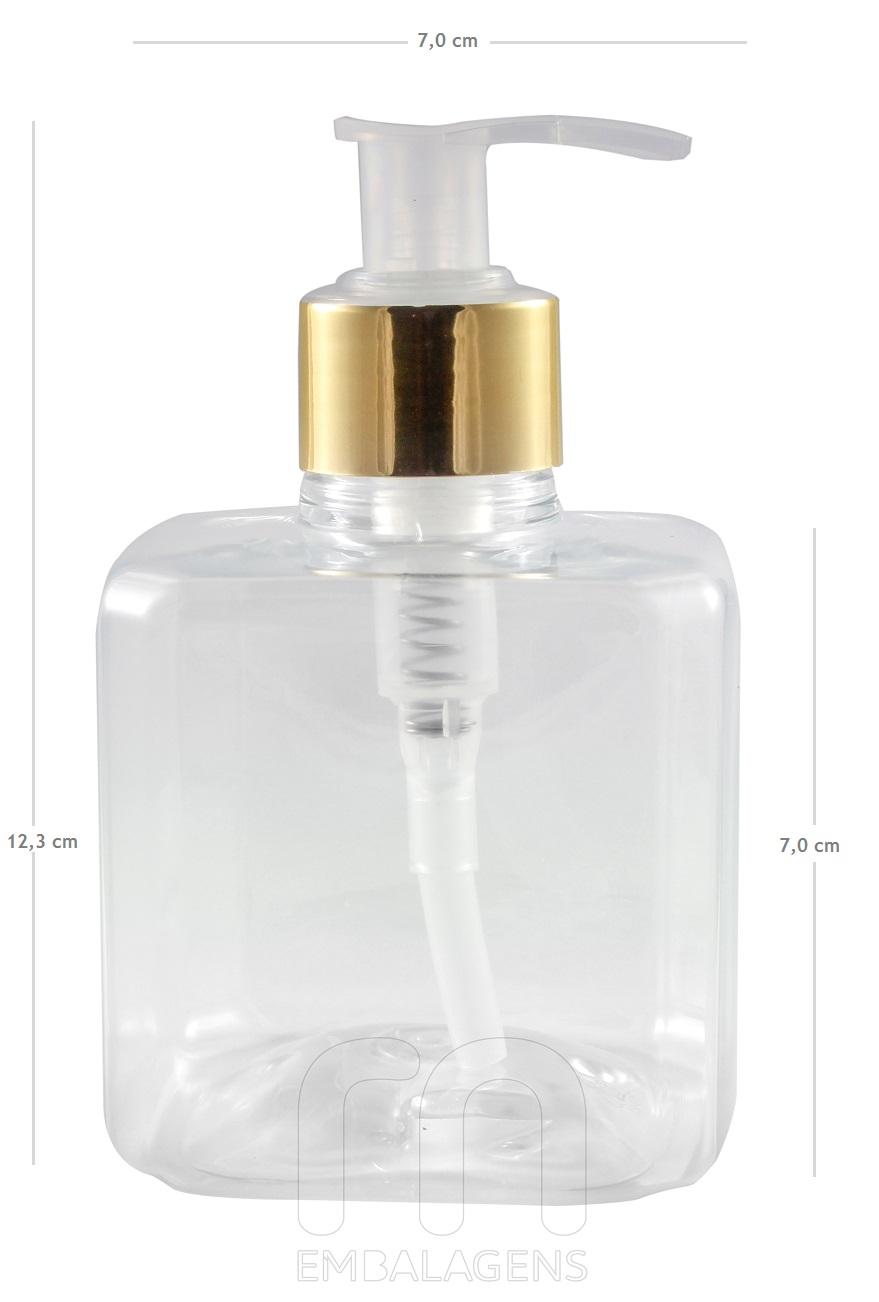 frasco-para-sabonete-liquido-com-valvula-dourada-ou-prata-300-ml-10-unid