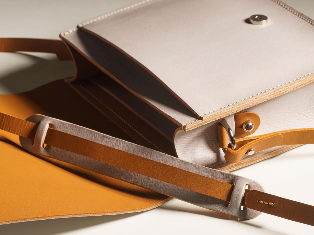 A bolsa Alma é feita por brasileiros, 100% no Brasil.