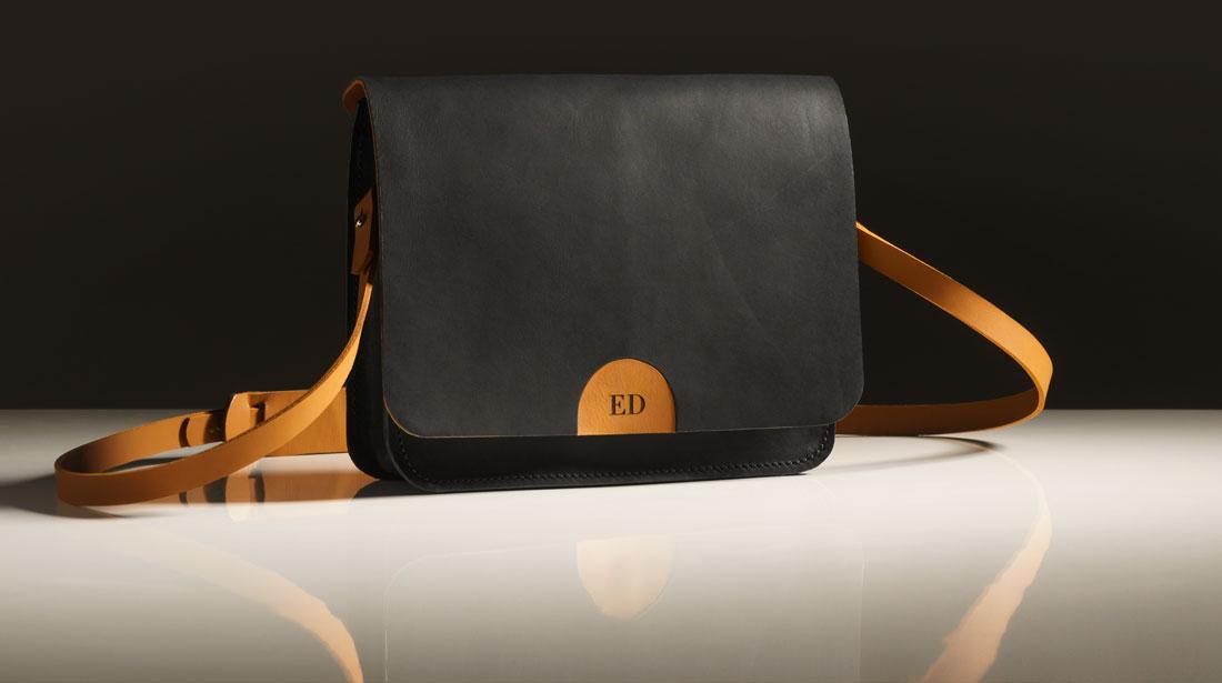 Bolsa Alma personalizada com o monograma do seu nome
