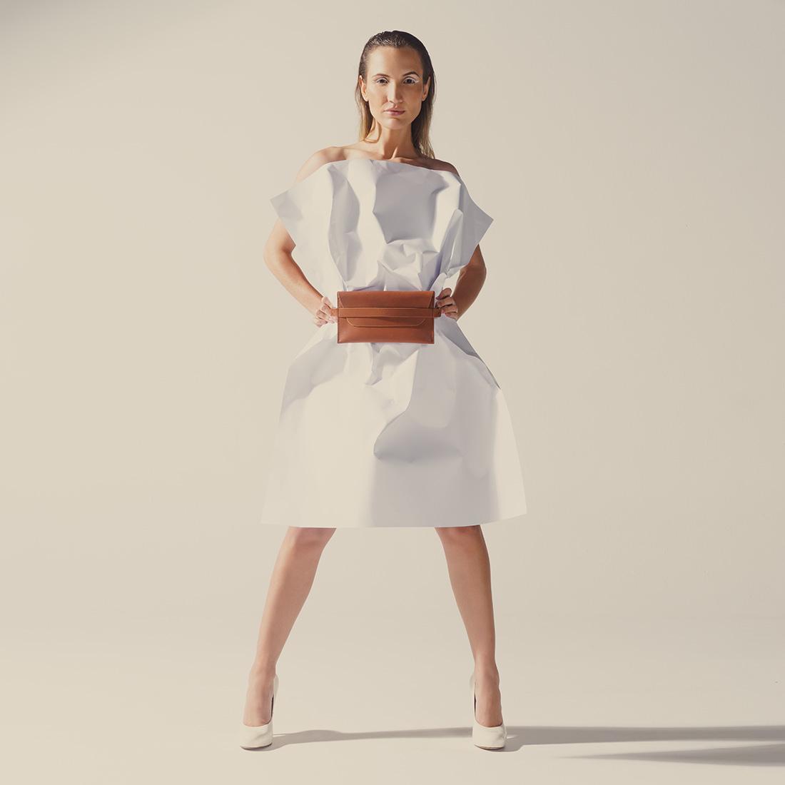 Pochette Pala Slim com seu design minimalista.