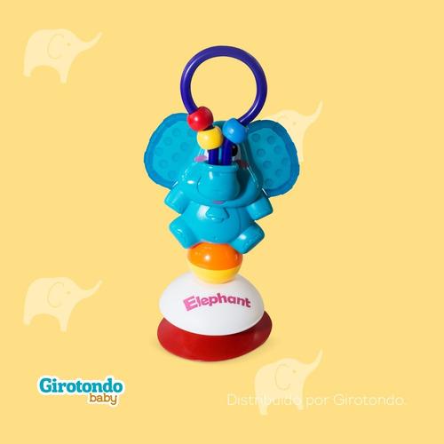 Brinquedo Cadeirão Com Ventosa Elefante - Girotondo