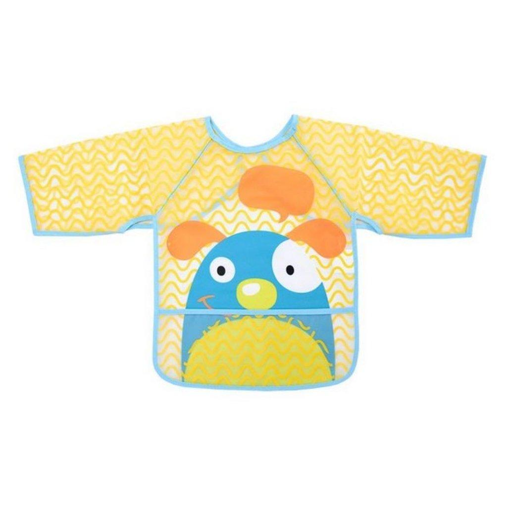 Babador com manga Cachorro - Multikids baby