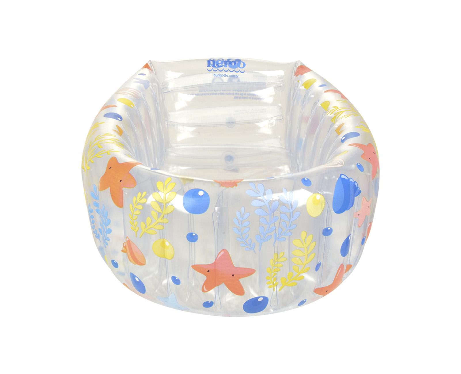 Banheira Inflável Nemo Cristal - Burigotto