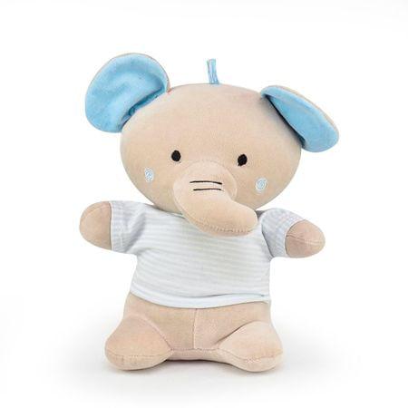 Elefante Camisa Listrada Azul - Zip Toys
