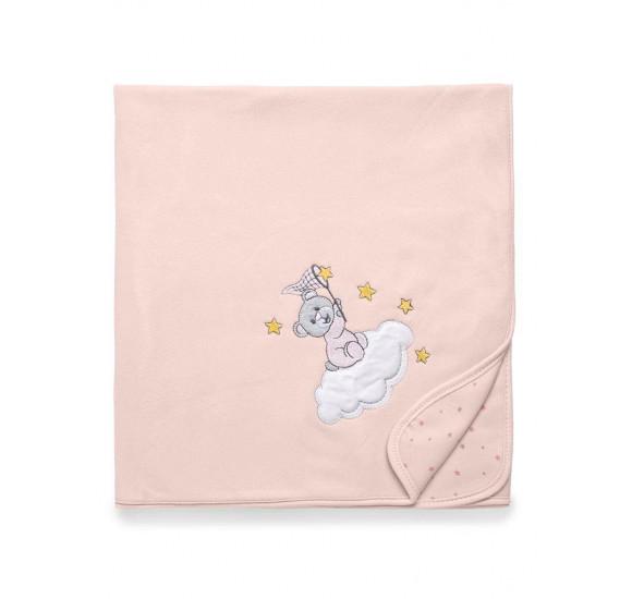 Manta Soft Brilha Brilha Estrelinha Rosa - Hug