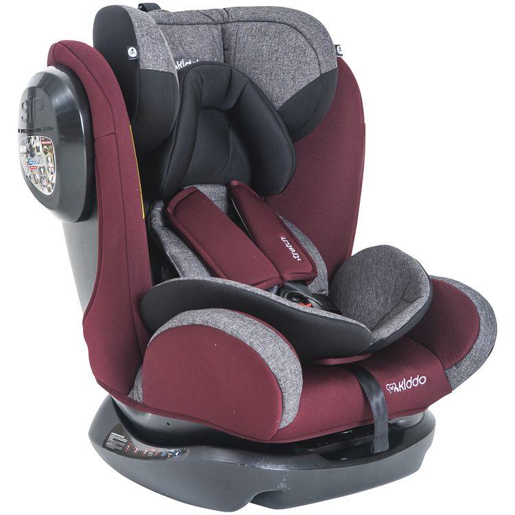 Cadeira Stretch 0 á 36kg Marrom com Cinza - Kiddo