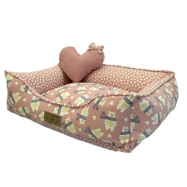 cama-para-cachorro-love-bear-rose-medio