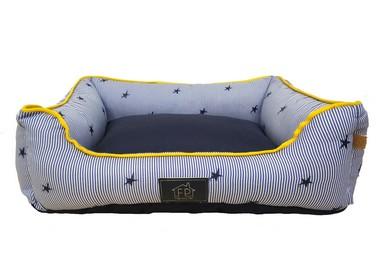Cama-2-em-1-Fábrica-Pet-Estrela - Azul