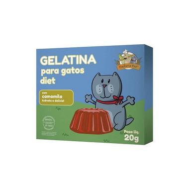 gelatina-para-gatos-com-camomila