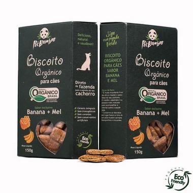 Biscoitos-orgânico-para-cães-banana-e-mel-ALL LOVE