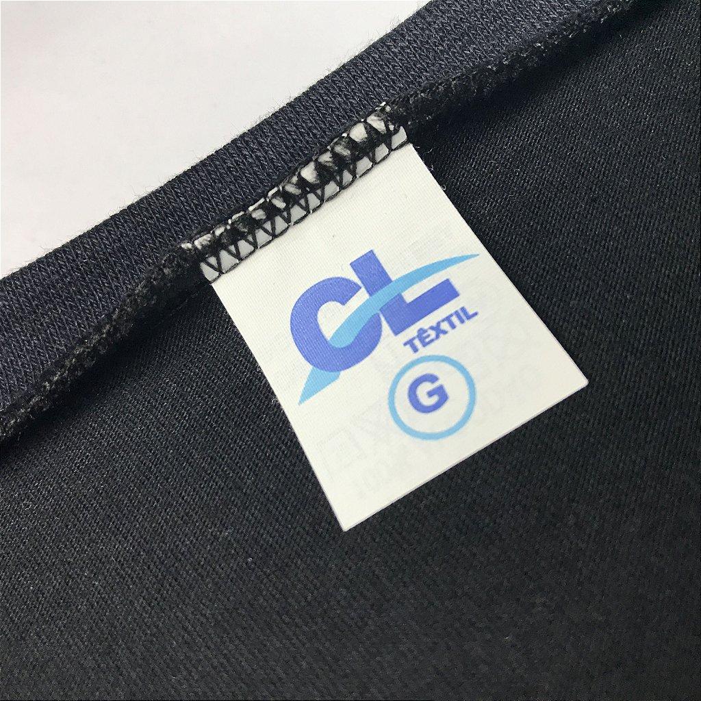 40a13a7d2 ... KIT 05 PEÇAS - Camiseta infantil 100% algodão penteado preto - Imagem 4