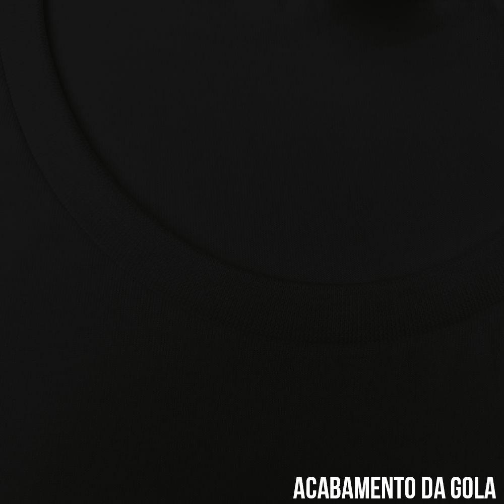10560c22b ... KIT 05 PEÇAS - Camiseta infantil 100% algodão penteado preto - Imagem 2  ...