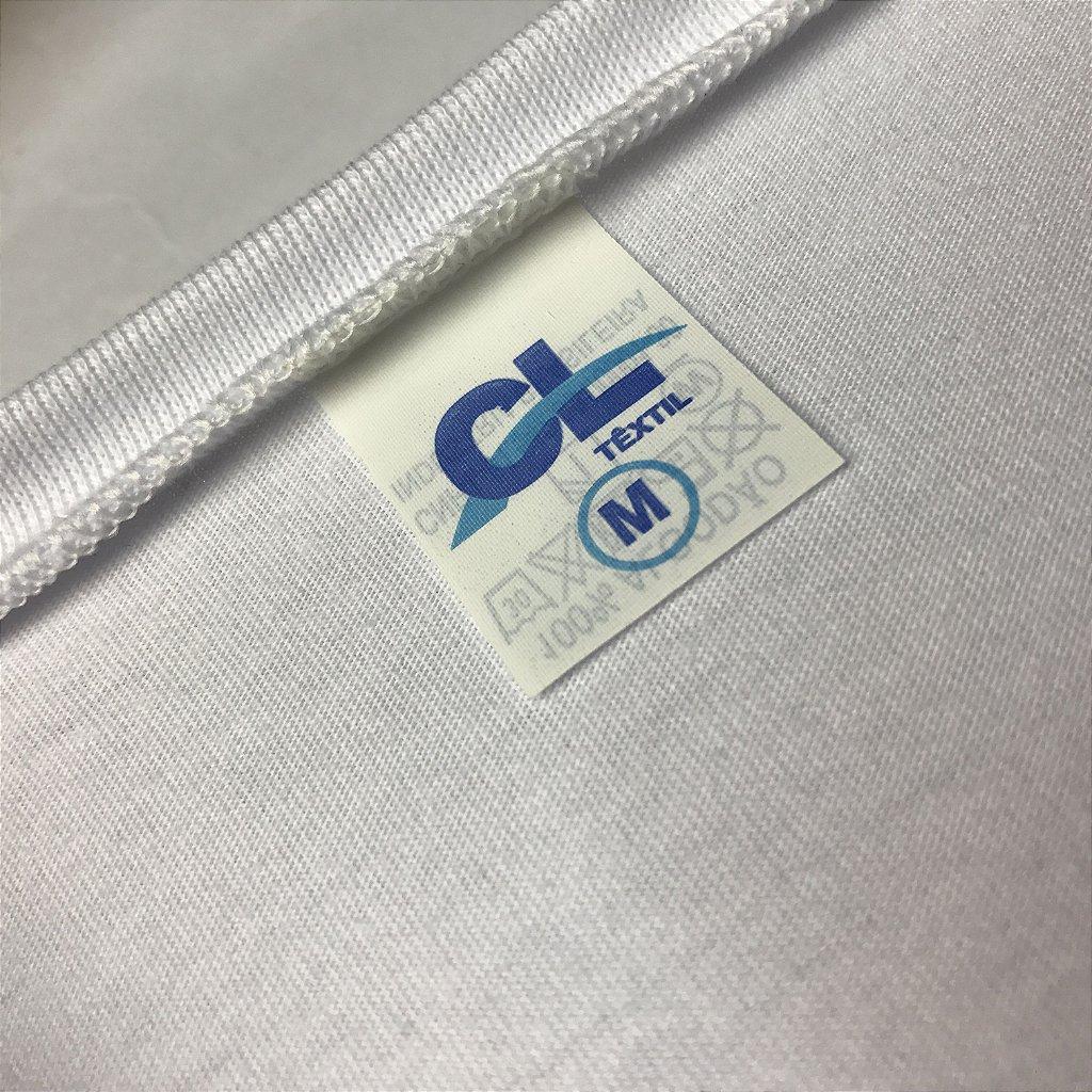 27f8df819 ... KIT 05 PEÇAS - Regata infantil 100% algodão penteado branco - Imagem 2  ...