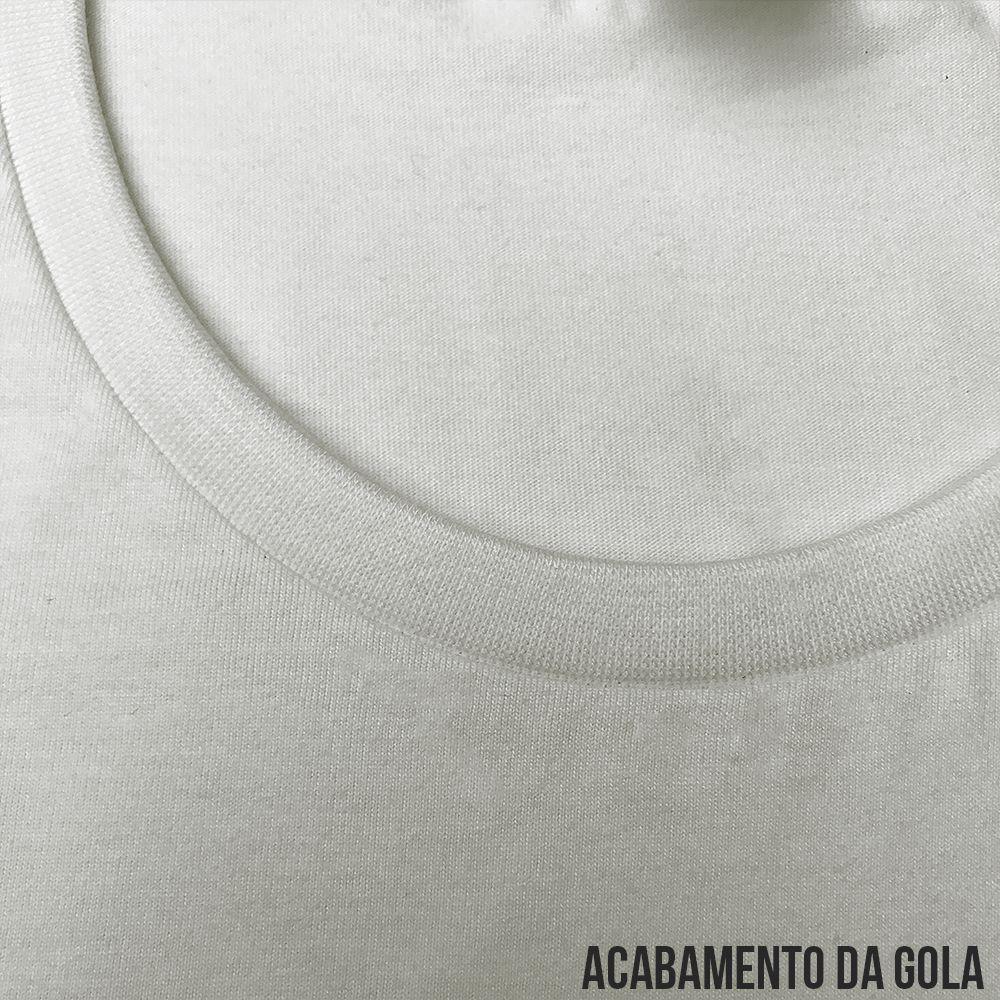 933ace1f4 ... KIT 05 PEÇAS - Regata infantil 100% algodão penteado branco - Imagem 4