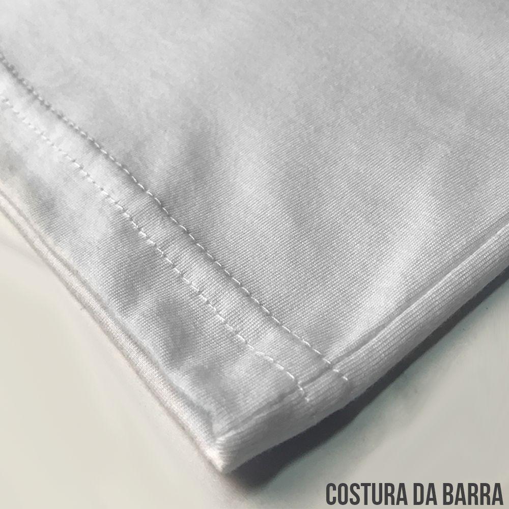 94119f55c ... KIT 05 PEÇAS - Regata infantil 100% algodão penteado branco - Imagem 3  ...