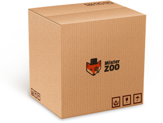Caixa de entrega - Mister Zoo