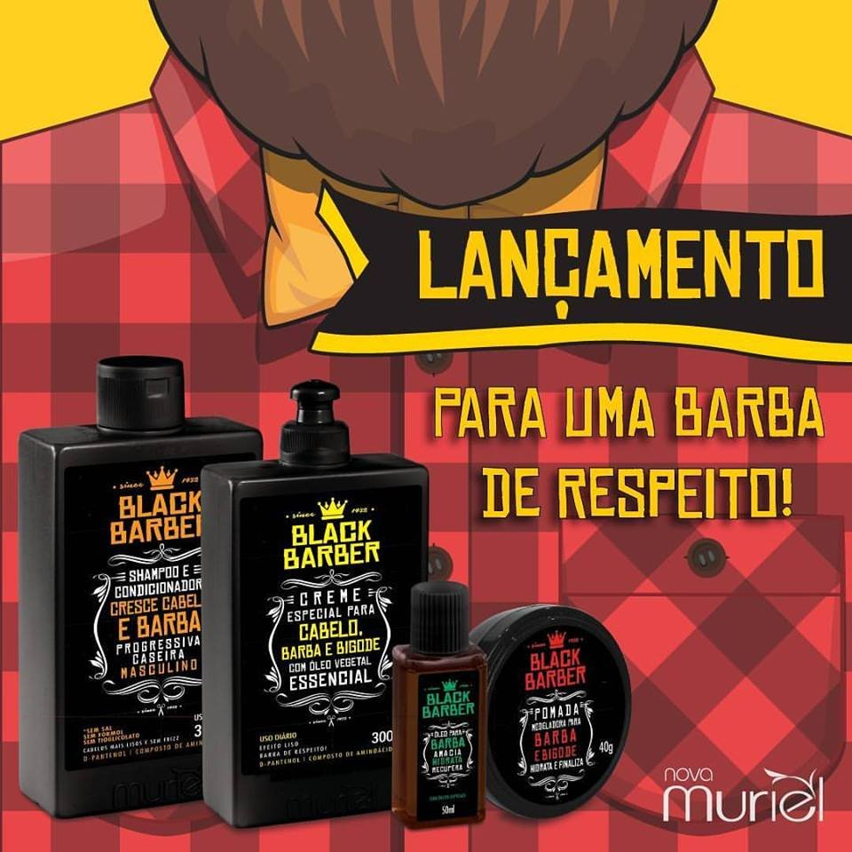 Kit black barber muriel