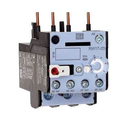 Relé de Sobrecarga Tripolar (AZ) RW17-2D3-D125 ajuste 8-12,5A Weg
