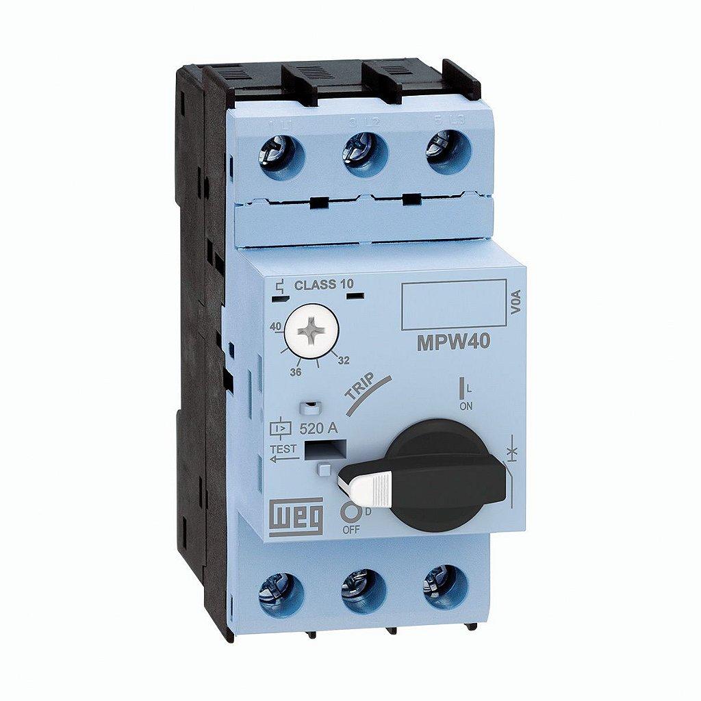 Disjuntor Motor Mpw65 50-60 A Weg