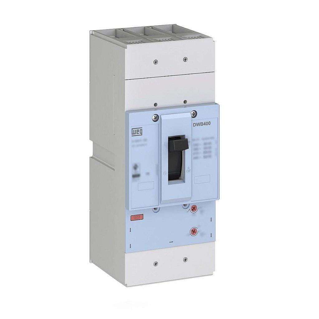 Disjuntor Caixa Moldada Tripolar DWB400H400-3DA 400A Weg