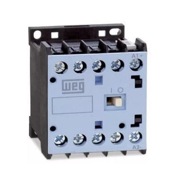 Mini Contator Tripolar AZ CWC012-10-30 12A 1NA 24VCC Weg