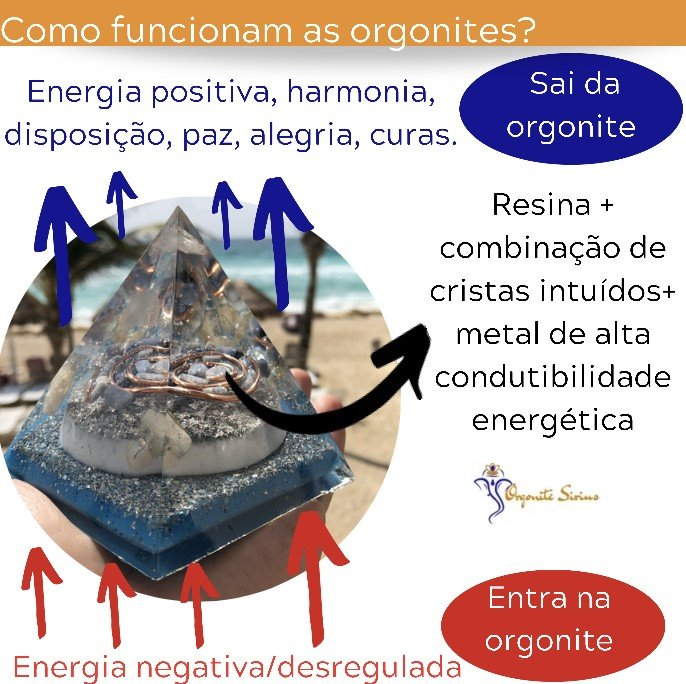 Como funcionam as Orgonites