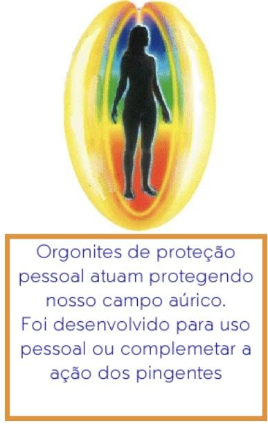 Orgonites de proteção pessoal benefícios