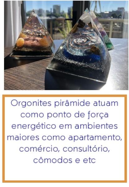 Orgonite pirâmide e sua função
