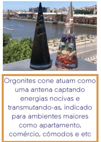 Orgonites cone benefícios terapêuticos