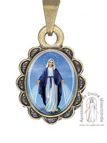 da403dee7123c PINGENTE NOSSA SENHORA DAS GRAÇAS - Loja do Santuário da Divina ...