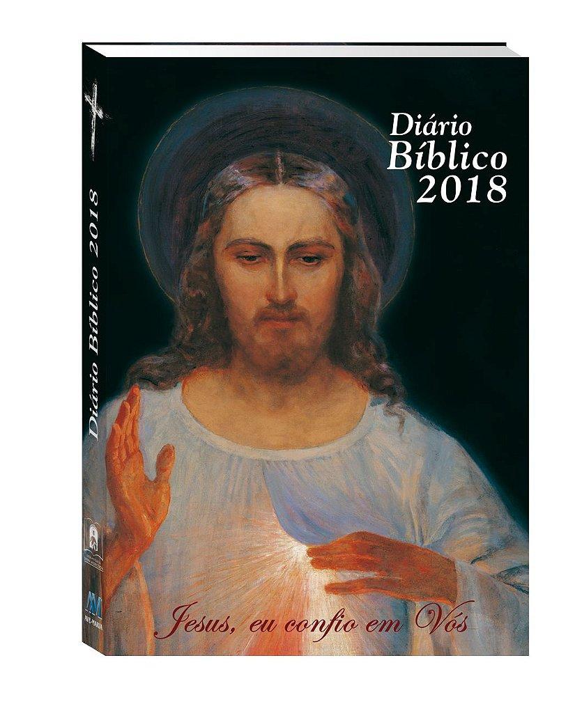 Fabuloso DIÁRIO BÍBLICO 2018 JESUS MISERICORDIOSO - Loja do Santuário da  GN31