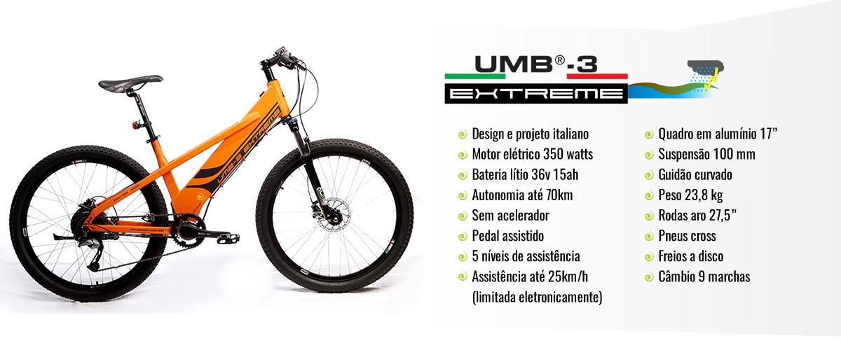 Bicicleta elétrica MYL Move Your Life Extreme