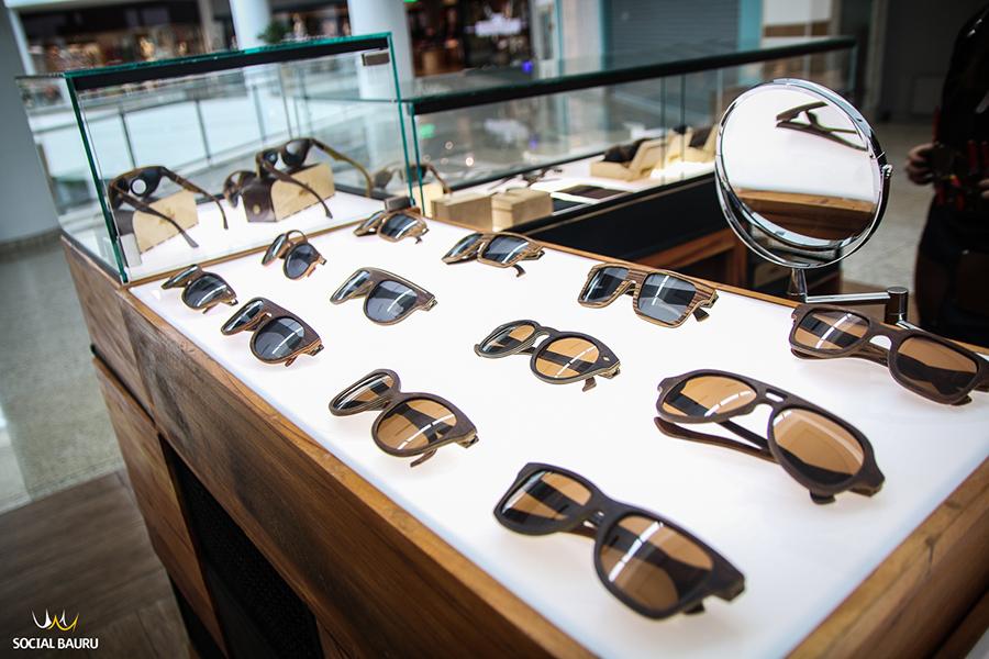 Allfenas - Óculos e Relógio de Madeira - Bauru