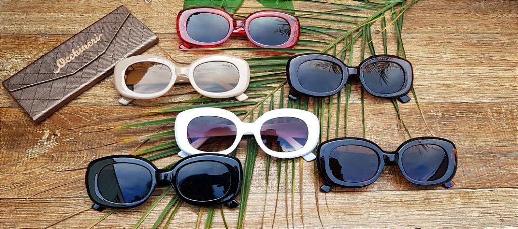 3d320a1f75d4f Óculos retro branco - Occhineri Jóias